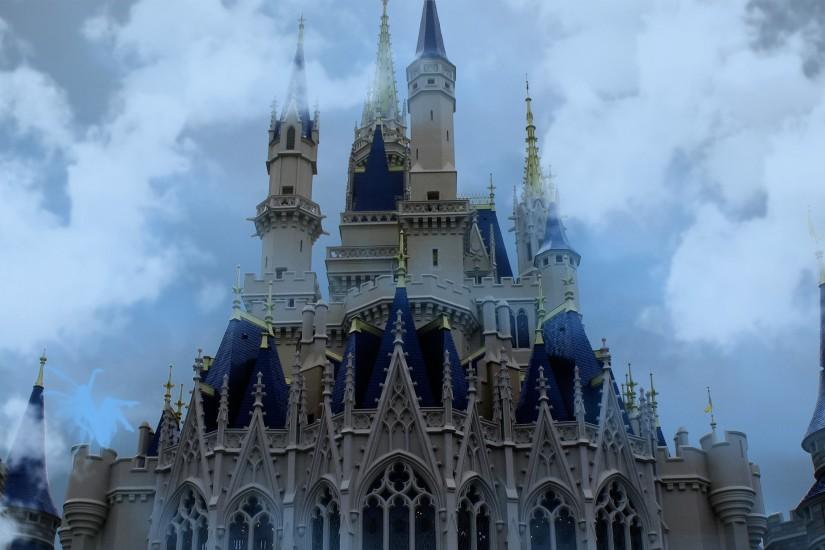 Cinderella Castle, Disneyland wallpaper 2560x1440 jpg