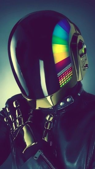 Preview wallpaper daft punk, style, music 1440x2560