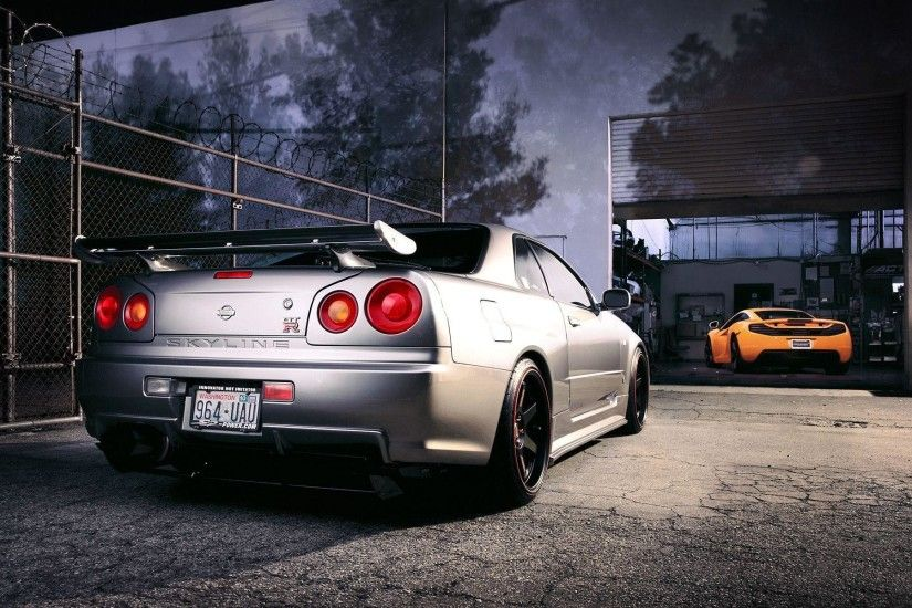 Nissan R34 Skyline GT R Wallpaper | HD Car Wallpapers