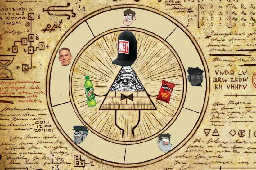 top bill cipher wallpaper 1920x1080 for ipad