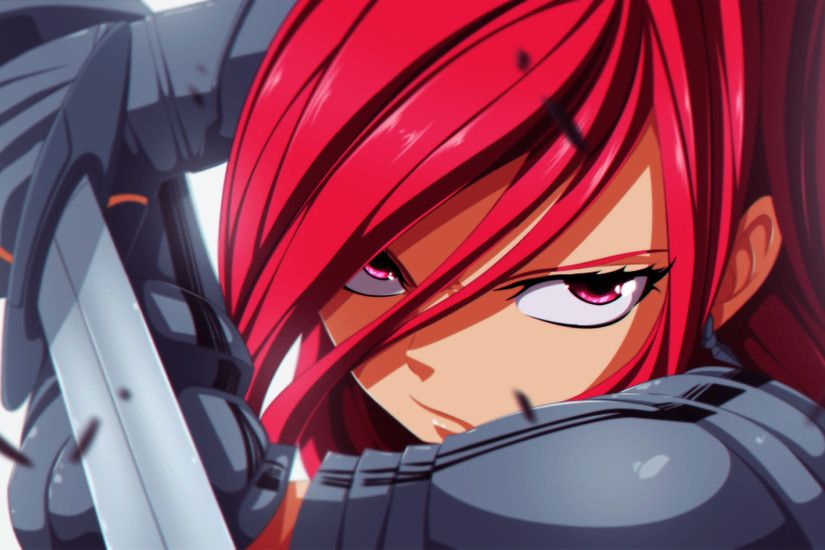 Erza Scarlet Wallpapers HD Free Download.