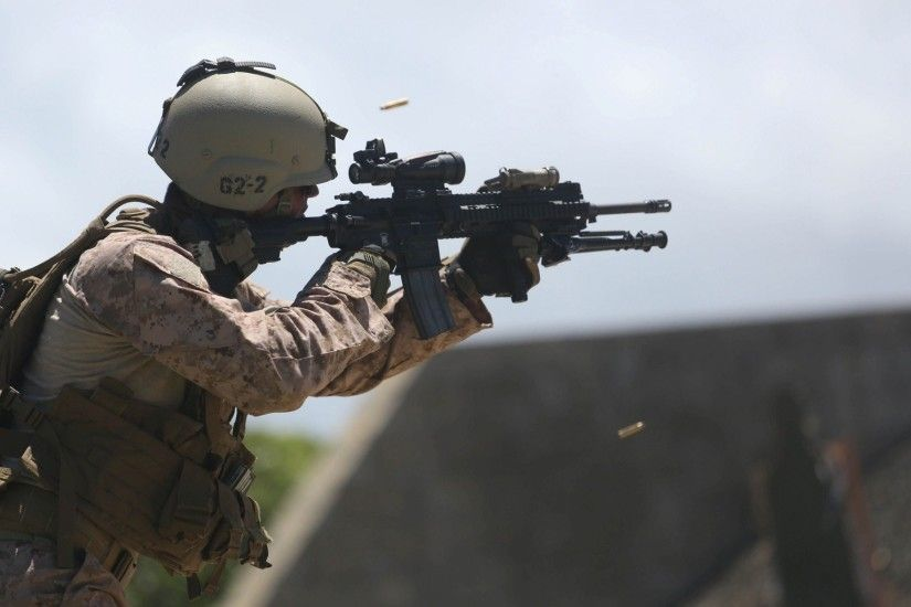 ... united states marine corps m16a4 men hd wallpaper ...