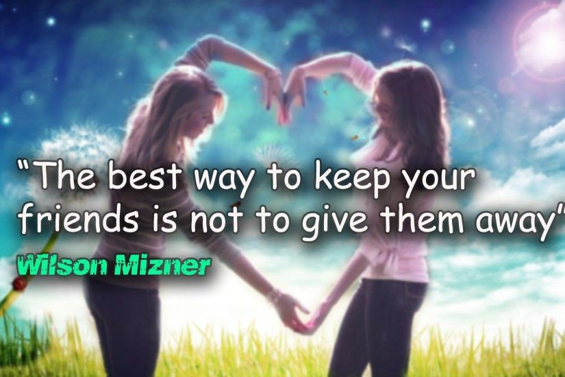 Best Friends With Quotes