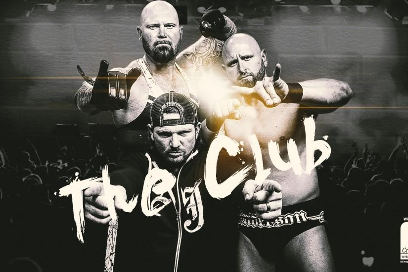 ThunderFists1988 20 6 WWE The Club Wallpaper by Arunraj1791