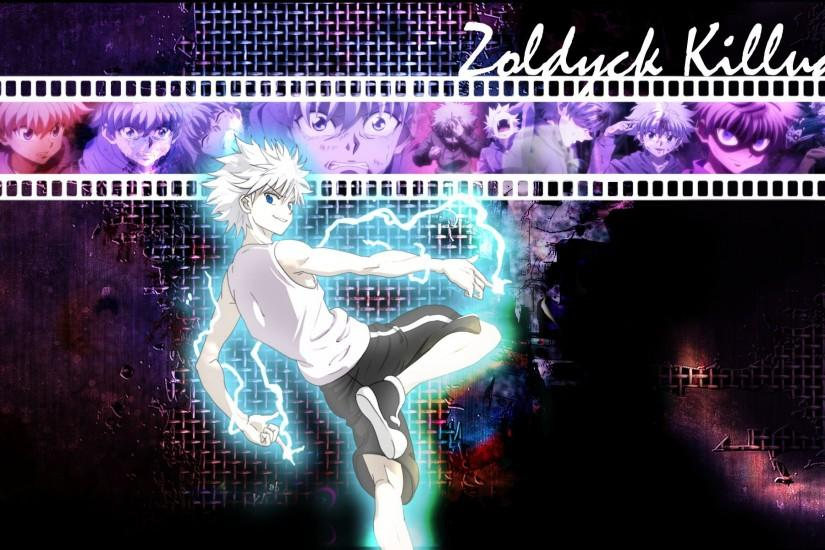 As requested, the orginal wallpaper of Killua used on my work PC.