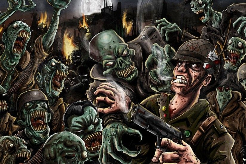 Call Of Duty World At War Zombie