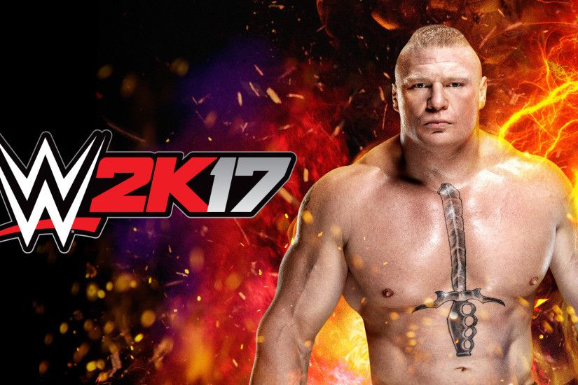... WWE 2K17 Brock Lesnar Wallpaper (Artwork) ...