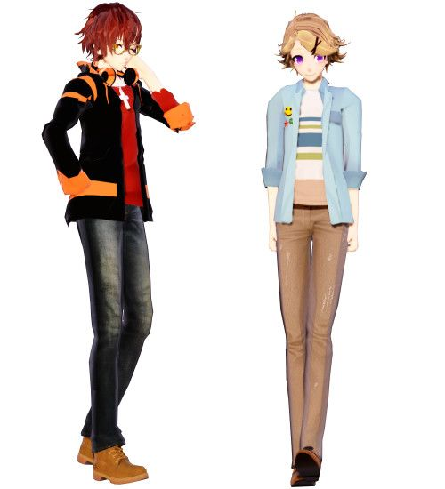 MMD Mystic Messenger 707 and Yoosung: gOD WHY by ZKArti