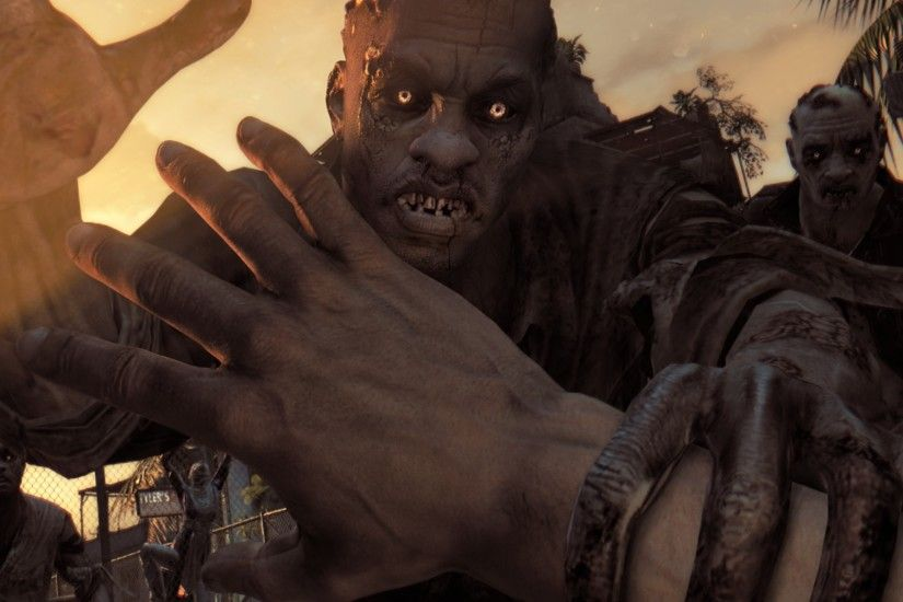 Preview wallpaper dying light, zombie, attack, game, novelty 2048x2048