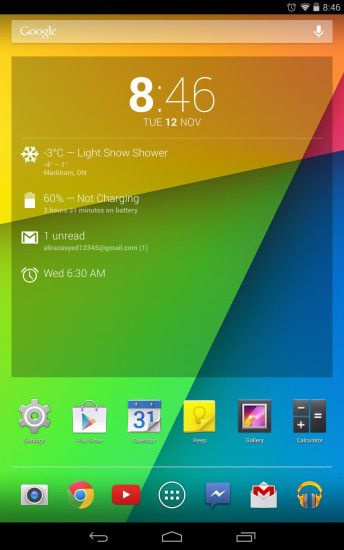Nexus 7 Android 4.4 KitKat update official