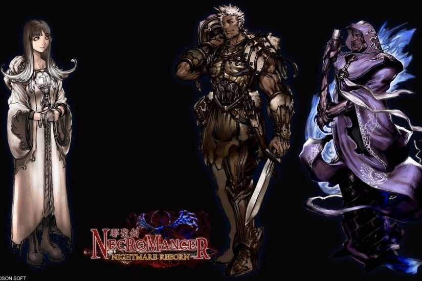 Video Game - Necromancer Guild Wars Wallpaper