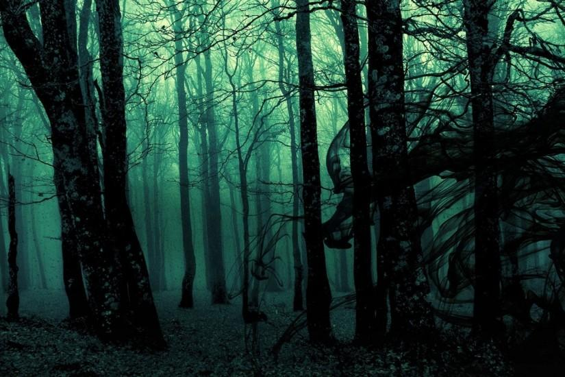 Wallpapers For > Dark Forest Background Tumblr