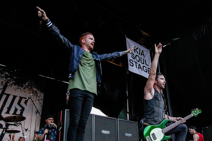 Memphis May Fire backdrop wallpaper