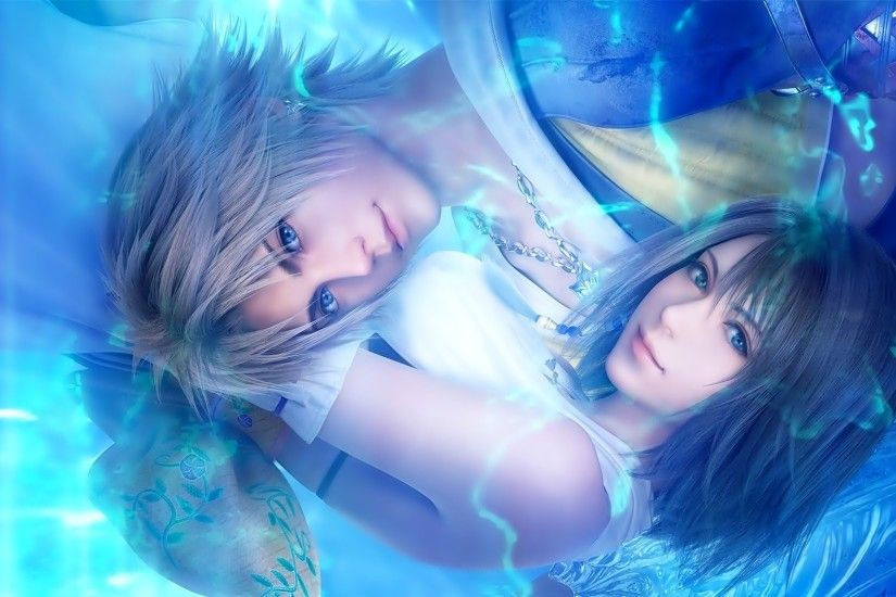 Backgrounds 1920x1080. Tidus, Yuna, Final Fantasy