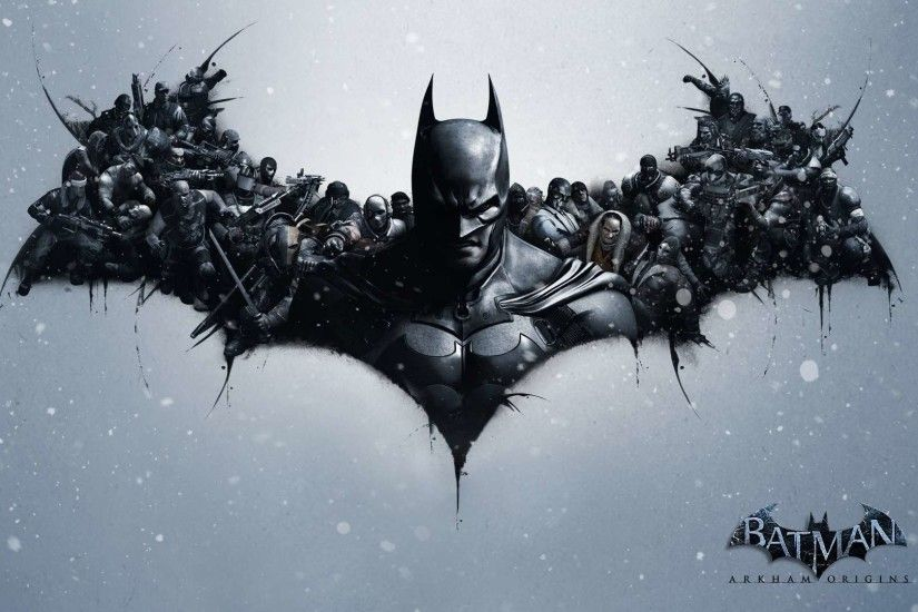 Batman Arkham Origins Video Game HD Wallpaper 1080p | HDWallWide
