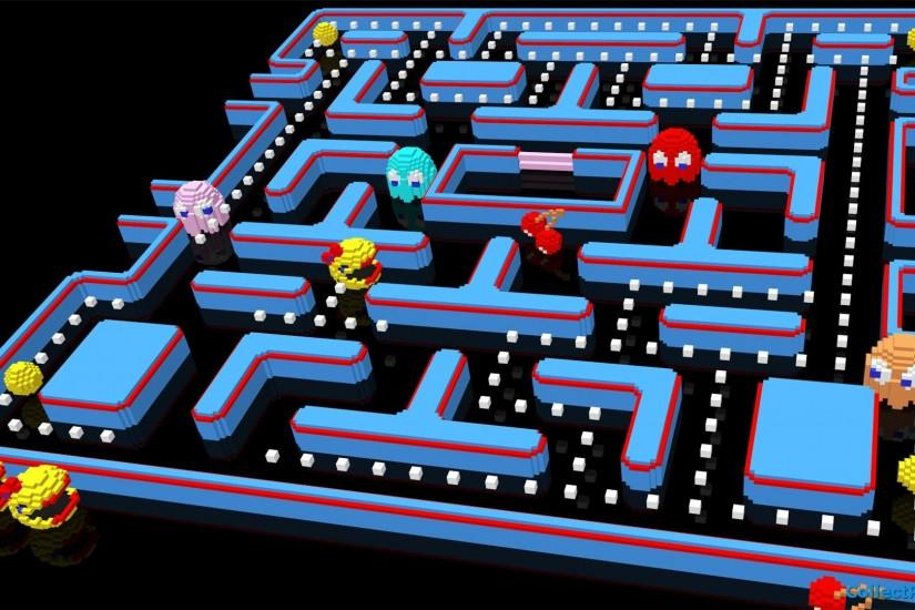 Ms Pacman HD Wallpapers | Backgrounds - Wallpaper Abyss