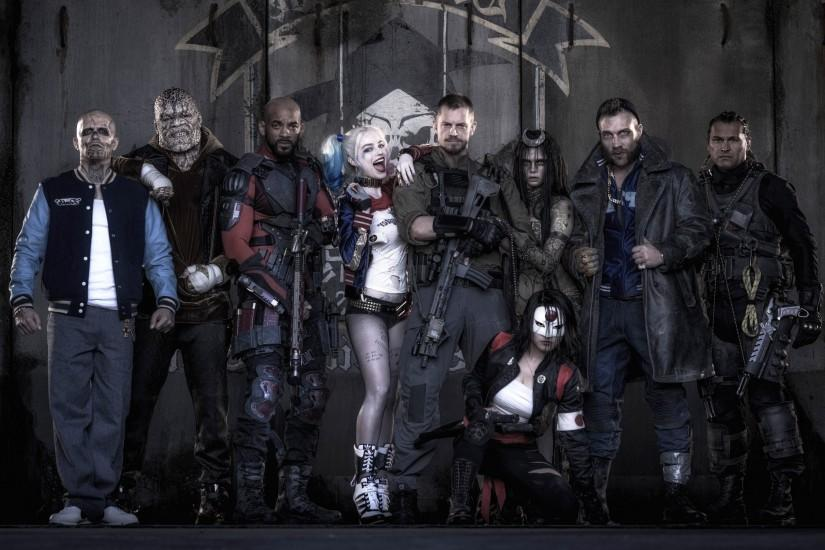 cool suicide squad wallpaper 2880x1800