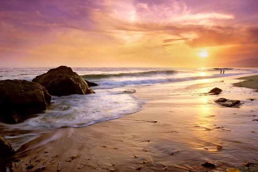 Zuma Beach wallpaper