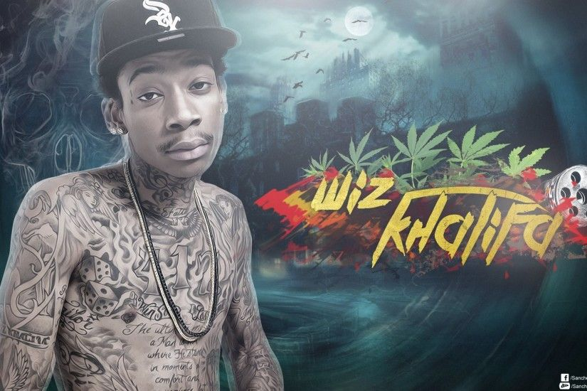 WIZ KHALIFA rap rapper hip hop gangsta 1wizk weed drugs .