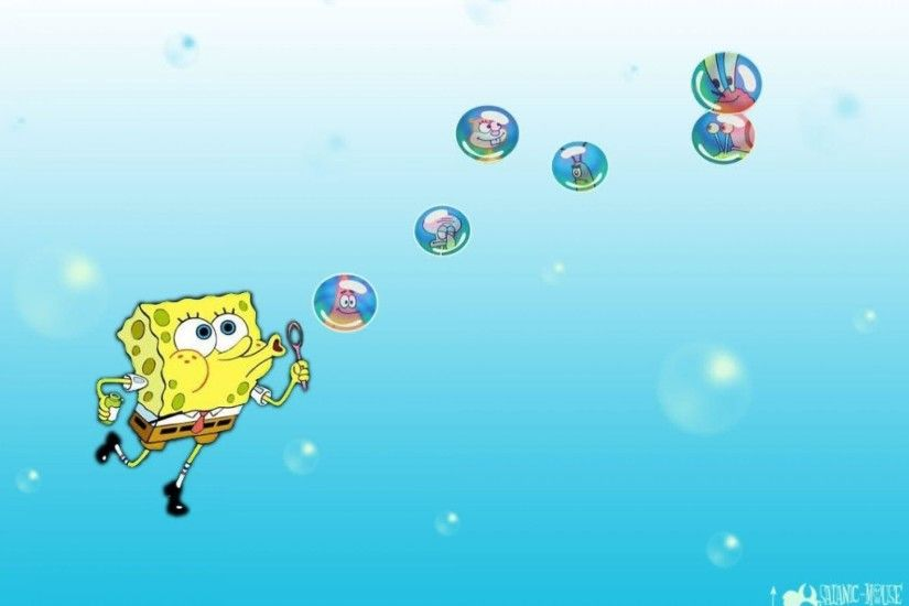 Spongebob Flowers In Sky 4k Wallpapers Source · 1920x1440 Spongebob  Background Spongebob Background Scene Spongebob Background