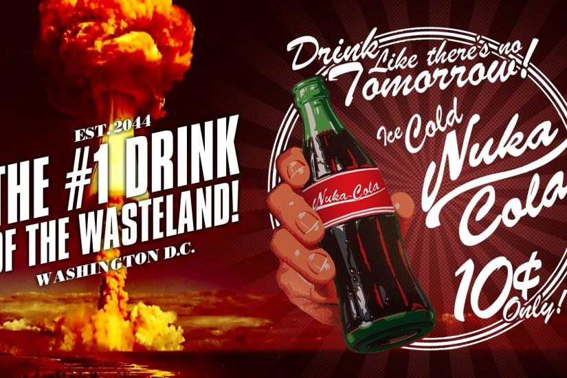 ... Nuka Cola - The #1 Drink of the Wasteland! by Potansky