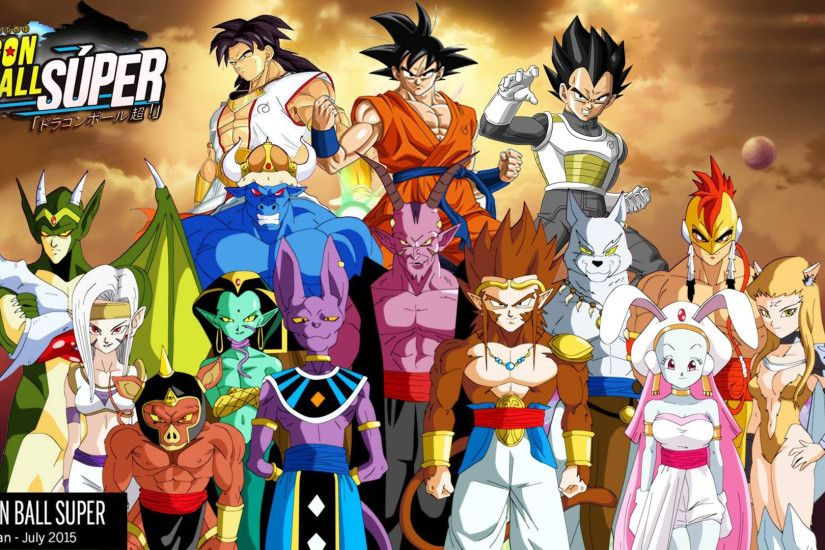 Dragon Ball Super Full HD Wallpaper and Background | 1920x1080 | ID:606985