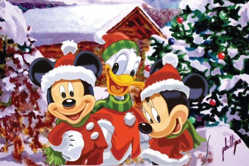 Mickey Mouse Christmas wallpapers - Wishes Lol