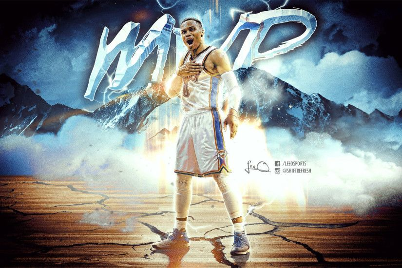 Russell Westbrook 2017 NBA MVP 1920x1200 Wallpaper