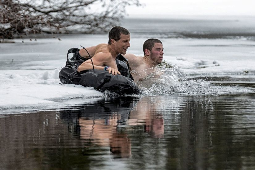 Watch Running Wild with Bear Grylls Highlight: Bear and Nick Go for a Dip -  NBC.com