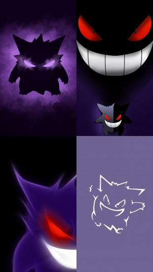 vertical gengar wallpaper 1280x2272