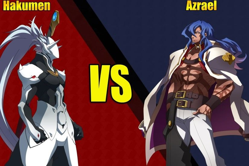 BlazBlue: Chrono Phantasma Extend Hakumen Vs. Azrael Crazy Finish