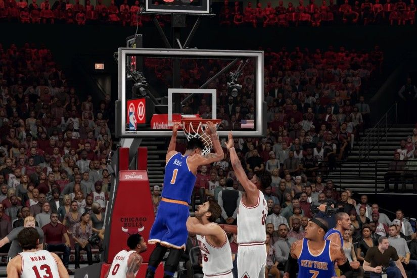 I made those screenshots above in NBA 2K16 just to get a visual of what Derrick  Rose would look like as a New York Knick and ...