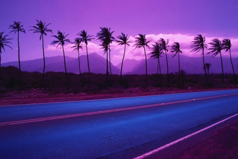 Purple Palm Trees Wallpapers, Purple Palm Trees Myspace Backgrounds .