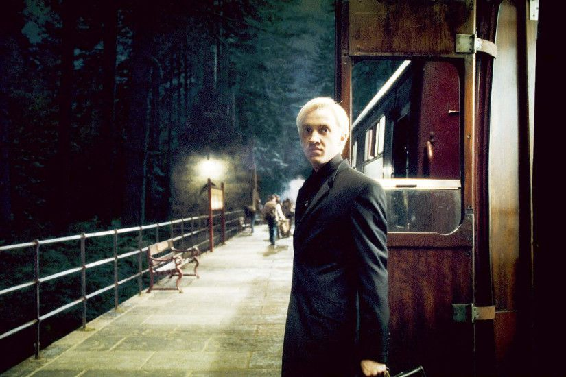 Tom Felton stars as Draco Malfoy in Warner Bros Pictures' Harry Potter and  the Half-Blood Prince (2009)
