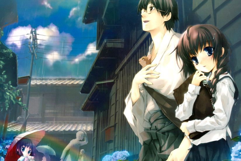hd cute anime couple images cool 1080p download free images widescreen  desktop backgrounds artworks colourful 1920×1200 Wallpaper HD