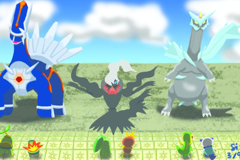 ... Pokemon Mystery Dungeon Heroes and Bosses by sizida