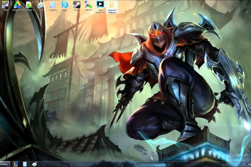 Zed Animated Wallpaper Preview