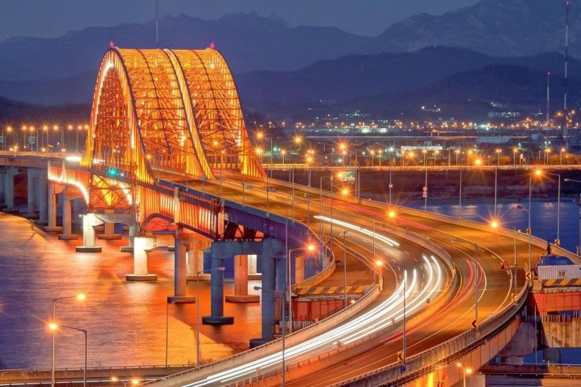 Banghwa Bridge, Seoul, South Korea