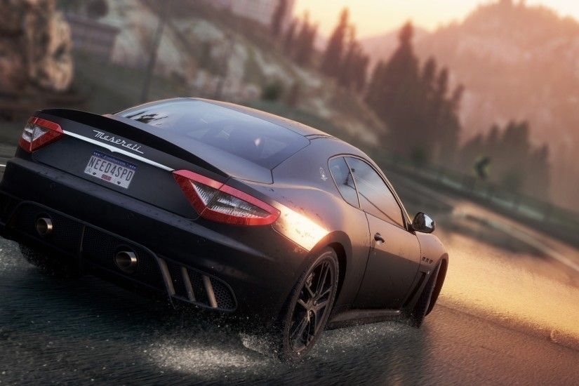Video Game - Need For Speed: Most Wanted (2012) Need For Speed Maserati