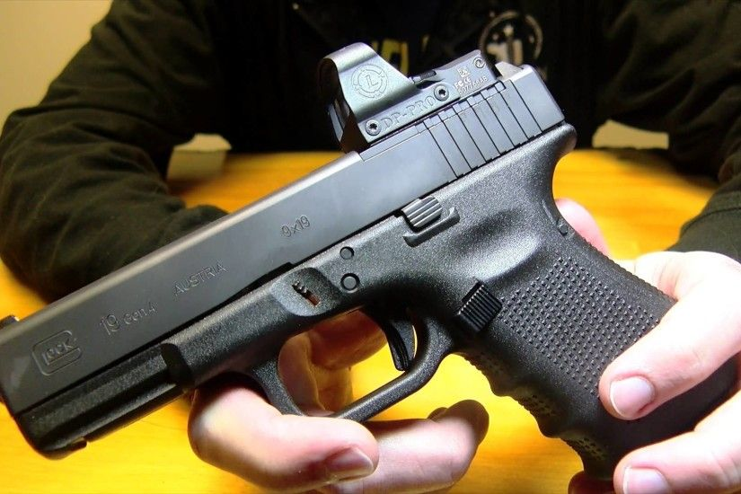 FIRST LOOK: Brand New from Glock: The Glock 17 MOS & Glock 19 MOS - YouTube