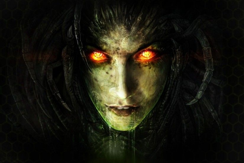 2560x1080 Wallpaper starcraft ii, sarah kerrigan, queen of blades, zerg,  starcraft 2