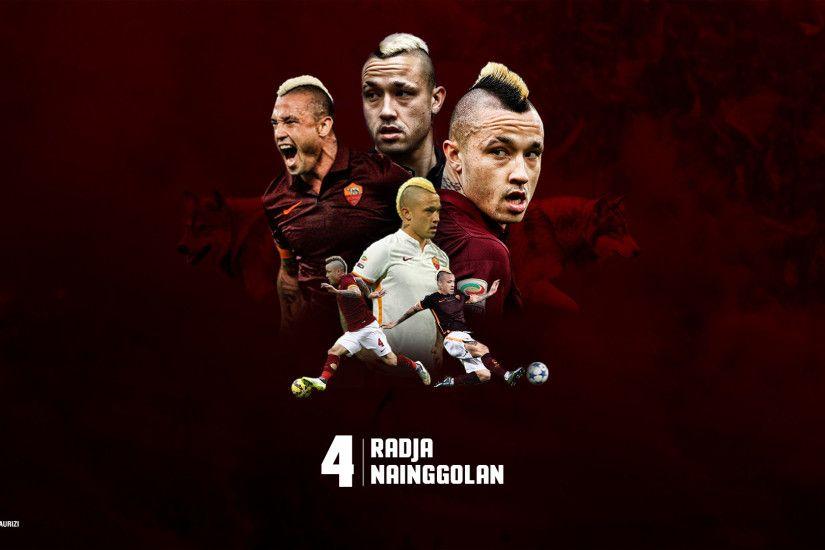 kizzou 2 0 Radja Nainggolan Wallpaper Art - As Roma Player by GiacomoMaurizi