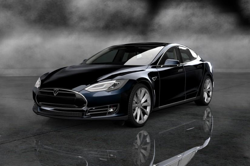 Tesla Car Widescreen Wallpaper 19179