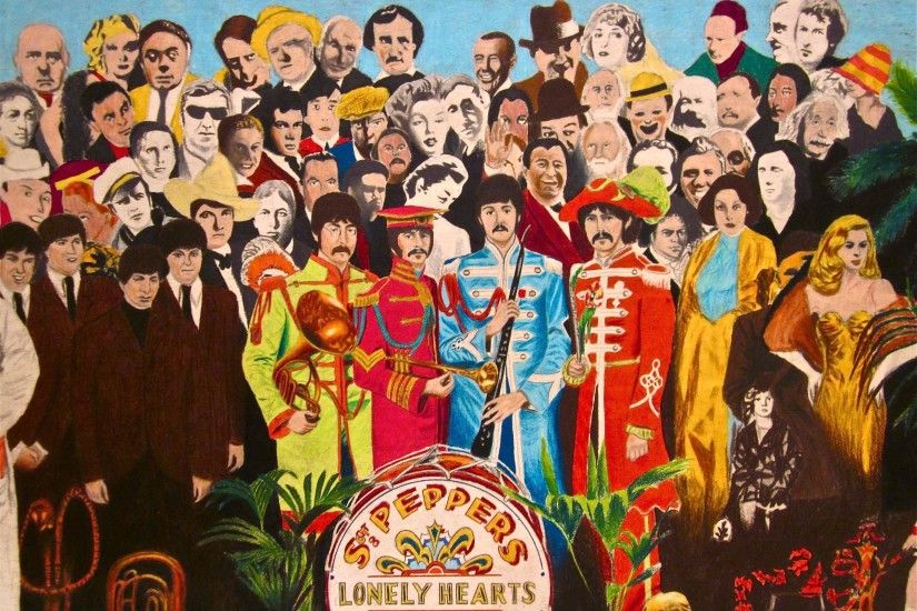 The Beatles Sgt Peppers Wallpapers