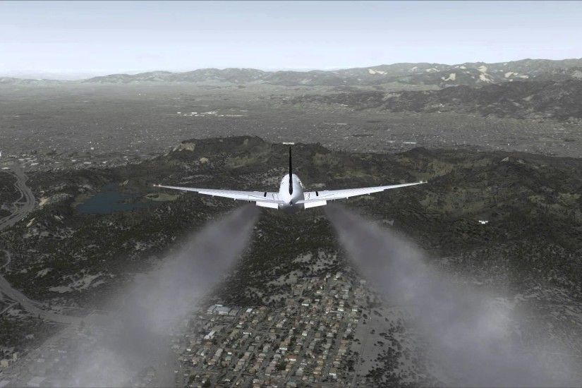 0 1440x900 Best city 1920x1080 Boeing 777 300ER Crash into Hollywood Sign