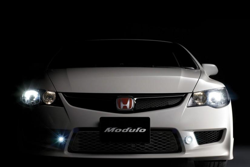 Honda Civic Wallpaper Black 1669 Full HD Wallpaper Desktop - Res .