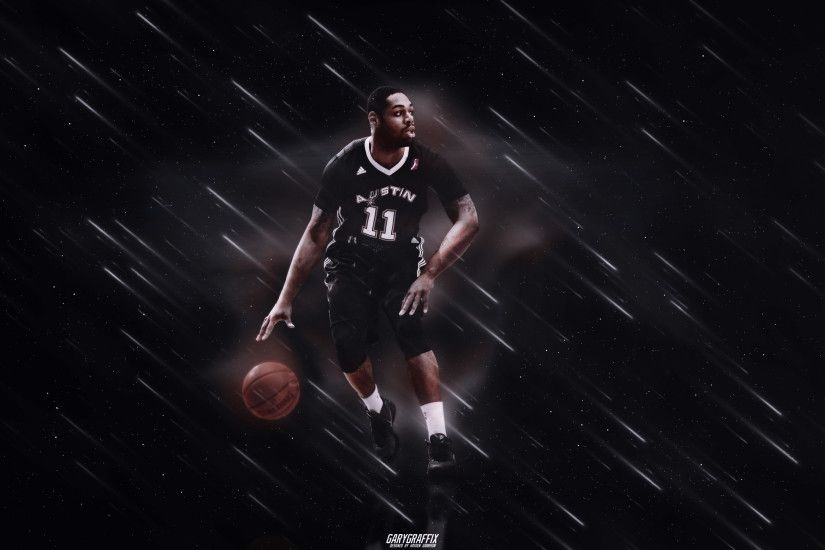 Demetri McCamey Austin Spurs Desktop Wallpaper