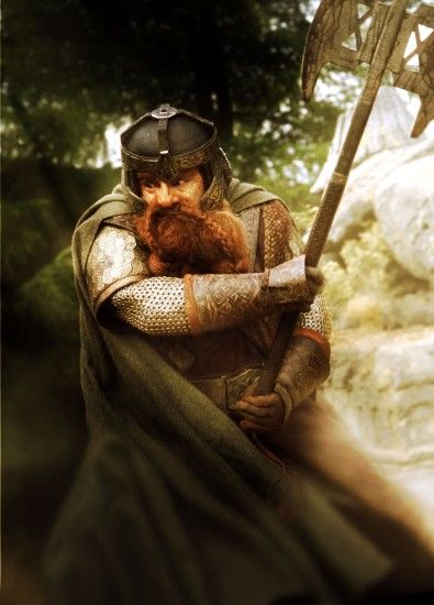 Gimli, son of Gloin - The Lord Of The Rings, played by John Rhys