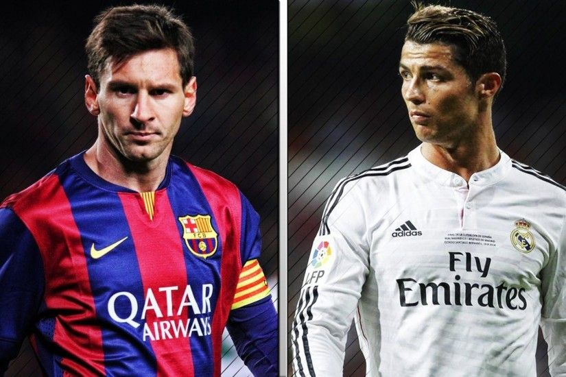 ... Cristiano Ronaldo Vs Lionel Messi 2017 Wallpapers - HD