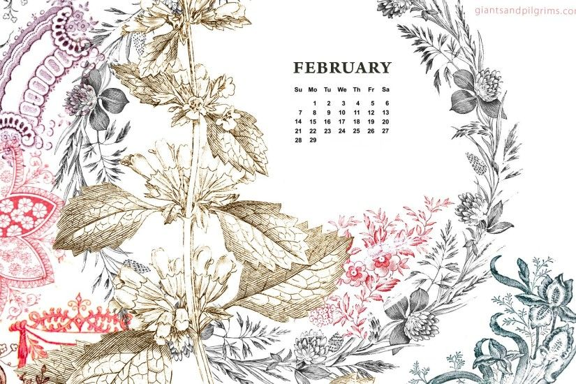 Desktop Wallpaper Calendar February 2018 (47+ images)